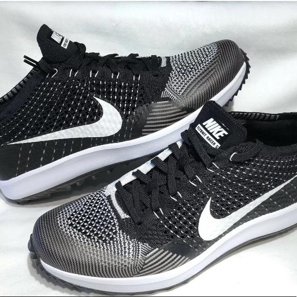 3a8a01ac6225d Nike Men s Flyknit Racer G Golf Shoes Oreo Varies
